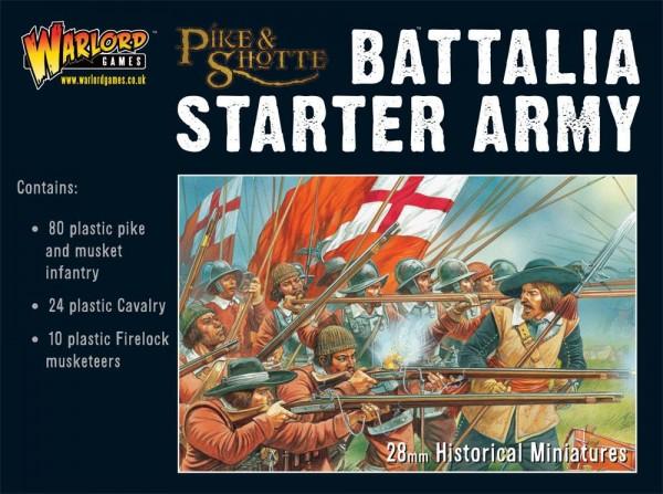 Pike and Shotte Starter Battalia Army Box