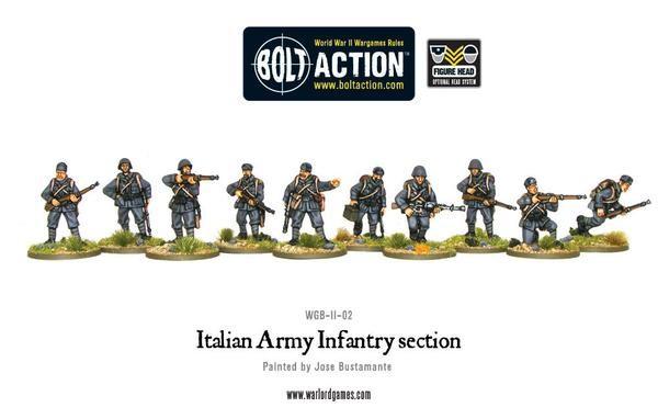 Italian Infantry Section