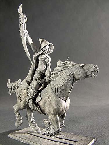 Dunkelelfen Musikerin der leichten Kavallerie