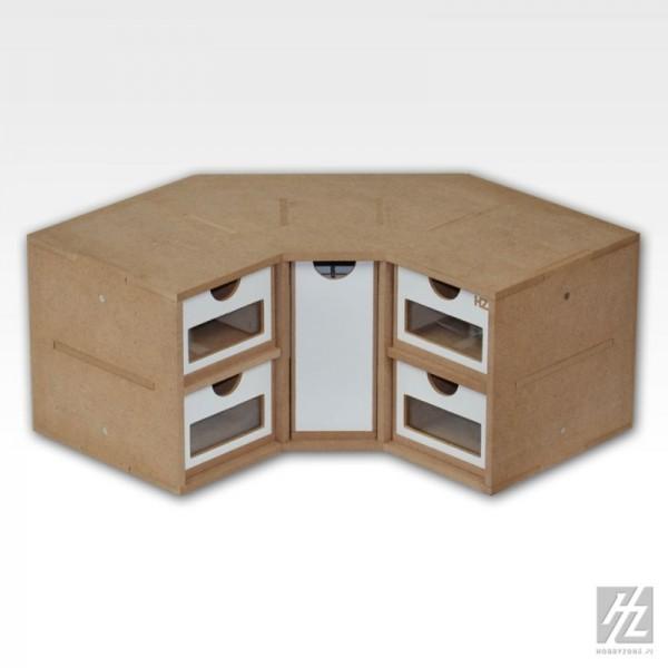Schubladenmodul 3 - Ecke