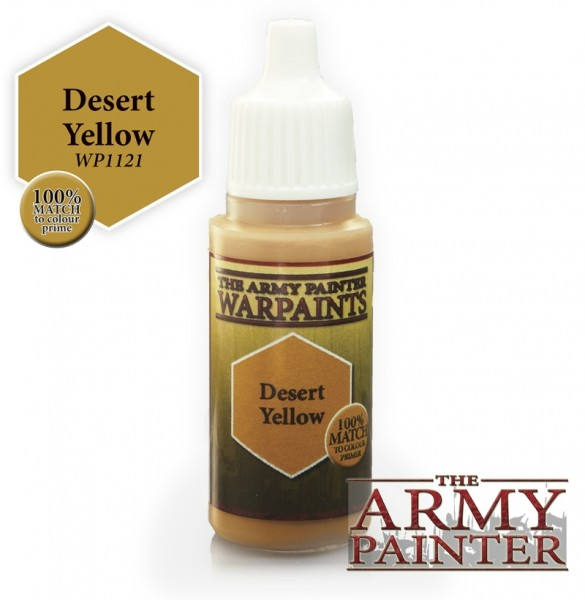 Desert Yellow - Warpaints