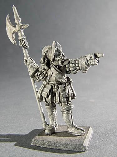Held des Imperiums mit Hellebarde