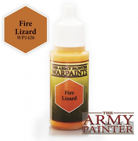 Fire Lizard - Warpaints