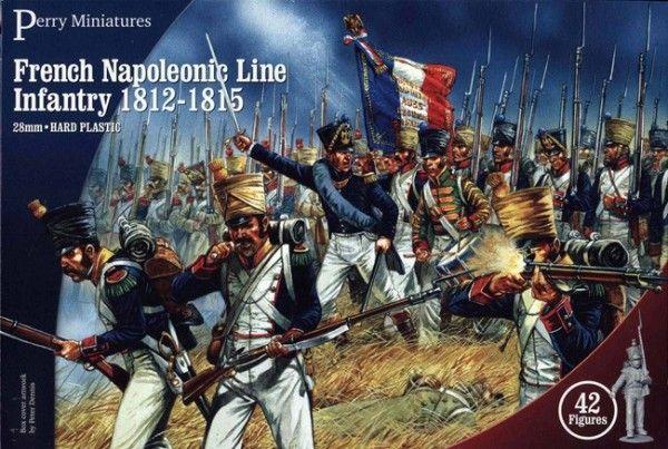 Napoleonic French Line Infantry 1812-1815