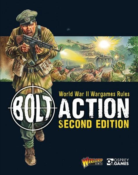Bolt Action 2nd Edition Rulebook (englisch)