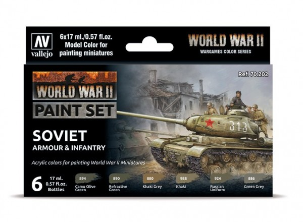 Model Color WWII Paint Set Soviet Armour & Infantry.jpg