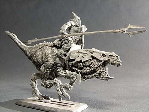 Dunkler Ritter auf Reitechse II