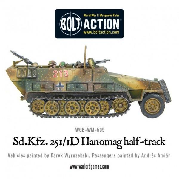 Sd.Kfz 251/1 Ausf D Hanomag