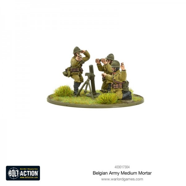 Bolt Action: Belgian Army Medium Mortar