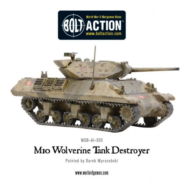 M10 Tank Destroyer/ Wolverine