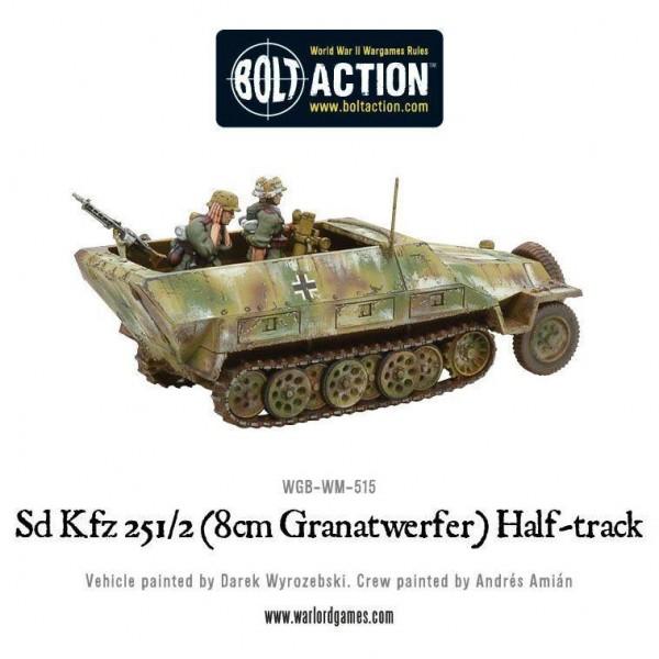 Sd.Kfz 251/2 Ausf D (8cm Granatwerfer) Half Track