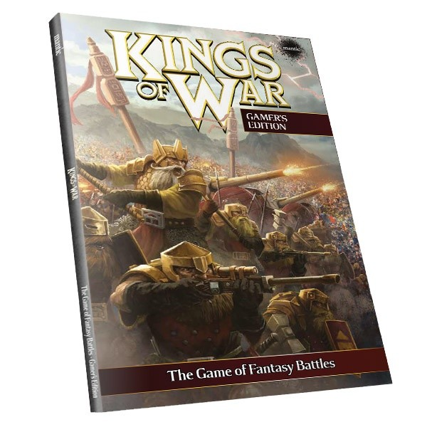 Kings of War 2nd Edition Gamers Rulebook (englisch)