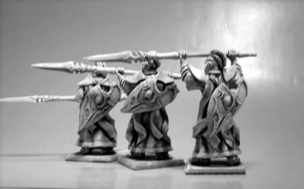 Elfen Veteranen Speerträger Mix II