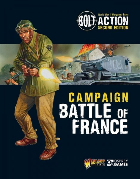 Bolt Action: Battle of France campaign book (englisch)