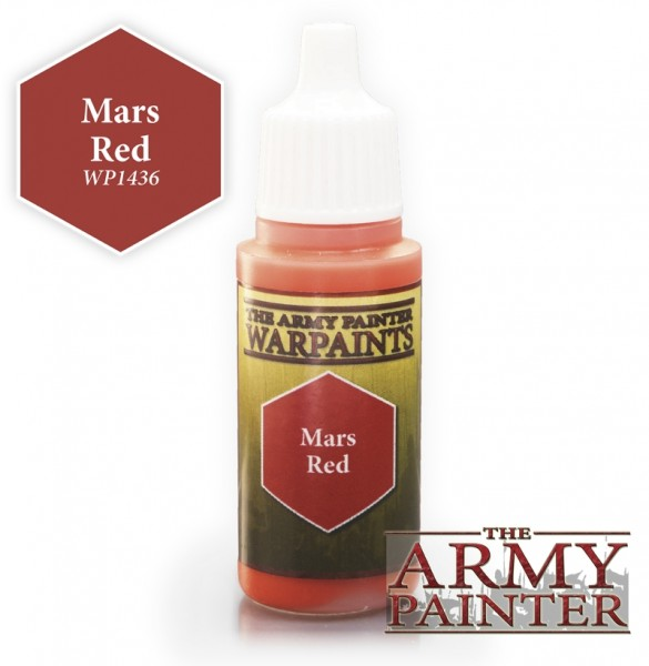 Mars Red - Warpaints