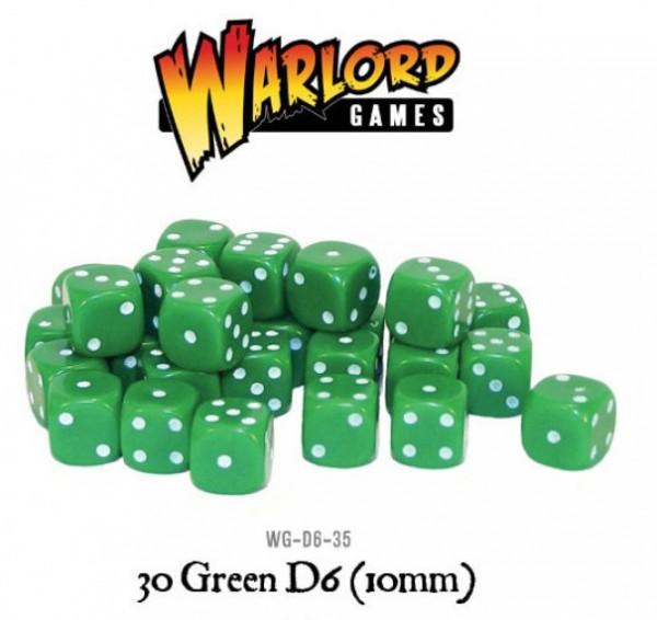 Warlord Games Würfel Grün (30)