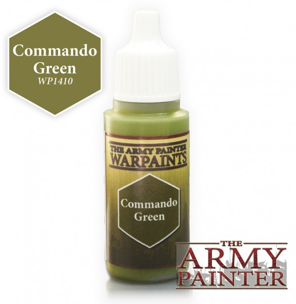 Commando Green - Warpaints