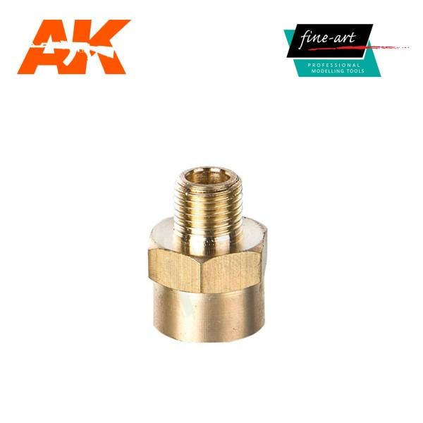 "Connector A4 1,8"" male – 1,4"" female.jpg"