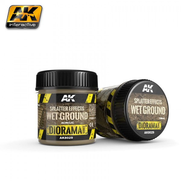 Splatter Effects Wet Ground – 100ml (Acryl)